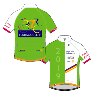 Tour de Guelph 2019 Cycling Jersey