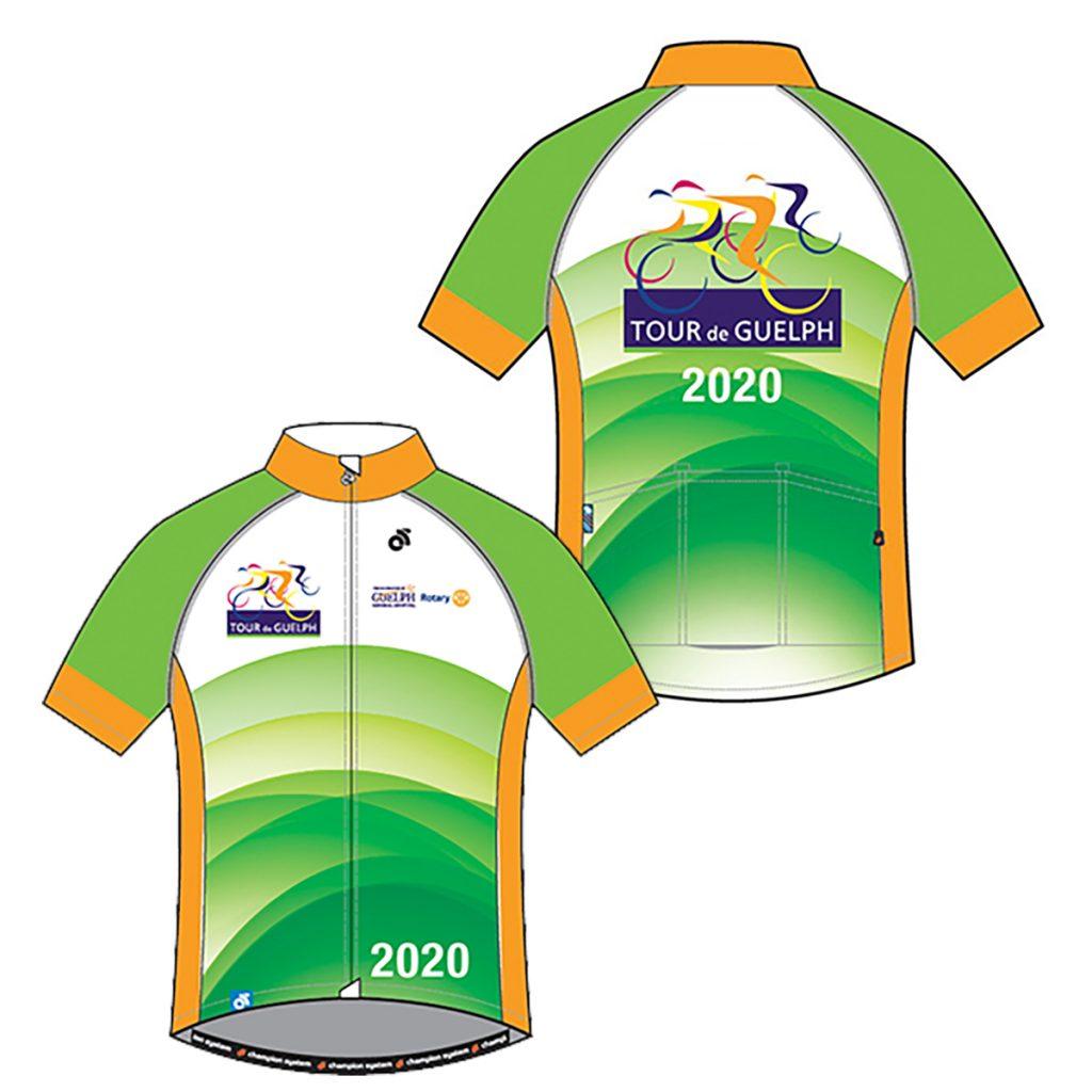 Tour de Guelph 2020 Jersey