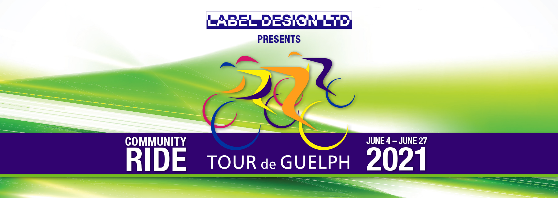 Tour de Guelph 2021 presented by Label Design